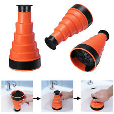Air Power Drain Plunger Buster Toilet Unblocker Sink Clog Remover Rubber Sucker