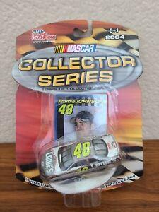 2004 #48 Jimmie Johnson Lowe's Hendrick Silver 25 Years 1/64 Racing Champions