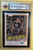 1981-82 O Pee Chee Rookie #108 Glenn Anderson RC KSA Graded 6.5 Edmonton Oilers