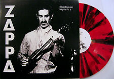 "FRANK ZAPPA ""SCANDINAVIAN NIGHTS part.2 ""  lp multicolored vinyl mint"