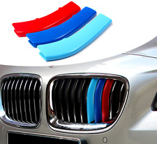 3Pcs For  BMW 2011-2017 X3 X4 Front Center Grille Grill Cover Trim 3Color