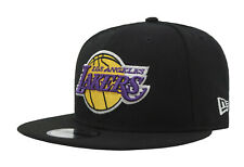 New Era 9Fifty Cap NBA Los Angeles Lakers Hat Men Team Snapback Black One Size