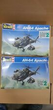 Revell AH-64 Apache Helicopter 1/100 Model Helicopter 2 kits FREESHIP!