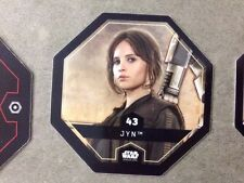 jeton STAR WARS Rogue One Cosmic Shells LECLERC 2016 - n° 43 JYN