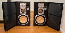 Sansui Vintage 3-Way  Speakers Model: S-717