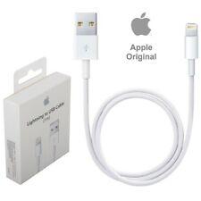 Genuino Original Cargador Cable Apple Rayo iPhone USB 2m de plomo 5 XR Reino Unido 6 7 8