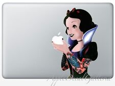 Snow White Decal Sticker Skin Stickers for Macbook Pro Air 13 15 17 '' inch SWMO