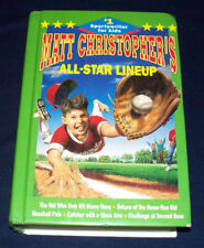 Matt Christopher's All Star Lineup 5 Volumes in One Baseball Stories Sports HB