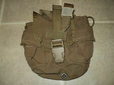 USMC ISSUE COYOTE 1 QT. CANTEEN COVER GENERAL PURPOSE POUCH FILBE CIF W/NSN #2