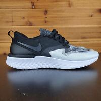 Nike W Odyssey React 2 Flyknit Running Womens Shoes Black White AH1016-007