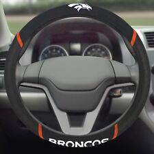 Denver Broncos Embroidered Steering Wheel Cover