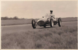 FLAT-4 ASTON BUTTERWORTH DAILY EXPRESS TROPHY MEETING SILVERSTONE MAY 1952 PHOTO
