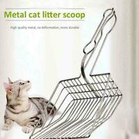 Metal Cat Litter Scoop Hollow Pet Cleaning Scoop with Long Handle pet Supplies r