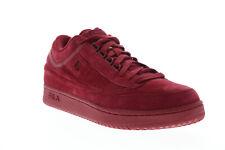 Fila T-1 Mid Premium 1TM00010-600 Mens Red Casual Low Top Sneakers Shoes 13