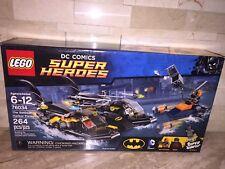 LEGO DC COMICS SUPER HEROES SET 76034 THE BATBOAT HARBOR PURSUIT