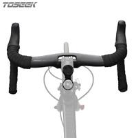 Toseek Bike Carbon Road Handlebar TR-1000 UD Matte Bicycle Drop Racing Handlebar