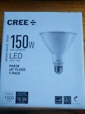 Cree Lighting TPAR38 1803040FH25 12DE26-1 E1 PAR38 150W LED Bright White NEW!