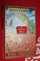 JULES VERNE  CINQ SEMAINES EN BALLON     éd M.L'ORMERAIE 1979