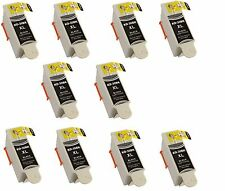10 Kodak 30 Black XL Ink Cartridge for 30XL Printer ESP C315 C310 C110 C115 Hero