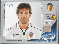 PANINI UEFA CHAMPIONS LEAGUE 2012-13- #398-VALENCIA-DAVID ALBELIDA