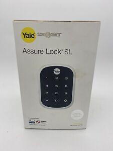 Yale Assure Lock SL Smart Lock Electronic Digital Deadbolt Satin Chrome Finish