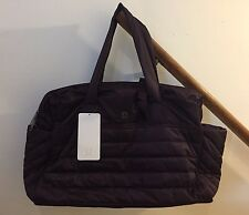 NWT Lululemon Get Lost Duffel Bag Black Cherry READ INTL SHIP