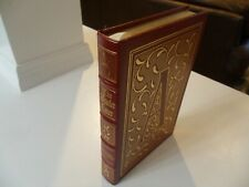 THE SCARLET LETTER ~ NATHANIEL HAWTHORNE ~ EASTON PRESS ~ COLLECTOR'S EDITION ~
