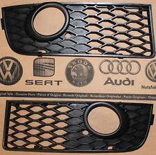 Audi A4 8E B6 original S-Line Gitter Grill Kühlergrill  fog light cover grille