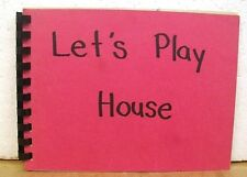 Let's Play House by Lois Lenski 1944 First Edition