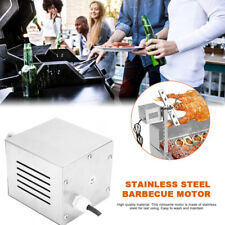 20W 120KG BBQ Motor Goat Cooking Spit Rotisserie Outdoors Roaster Barbecue Tool