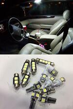 10 x xenon branco luzes led pacote interior kit para mazda cx-5 2013-2014