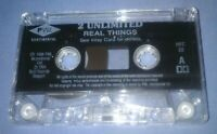 2 UNLIMITED REAL THINGS cassette tape album N37