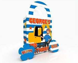 Personalised Blippi Theme Children Party Bag Gift Favour Box Treat Bag