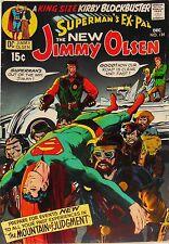 JIMMY OLSEN #134-MIGHTY COMICS #91 AUSTRALIA-DC-SUPERMAN-1st DARKSEID~JACK KIRBY