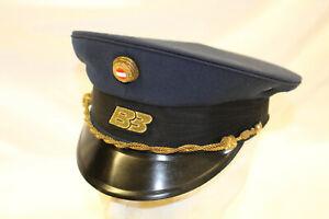 LK801: BB Bundesbahn Schirmmütze Dienstmütze altes Stück Größe 56
