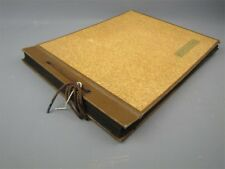 Vintage 1940s Family Photo Album Boy Scouts, Animals, Military