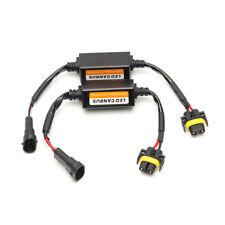 2PCS H11 LED Headlight Canbus Error Free Anti Flicker Resistor Canceller Decoder