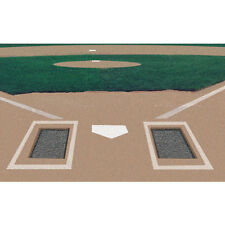 """1 Pair of Rubber Batters Box Foundation - 32"""" x 40"""" x 3/4"""""""