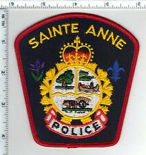 Sainte Anne Police (Canada) Shoulder Patch from 1980's