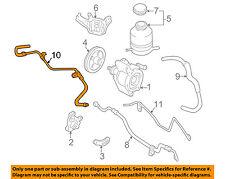 TOYOTA OEM 97-98 RAV4 Power Steering-Return Line Hose 4440642031