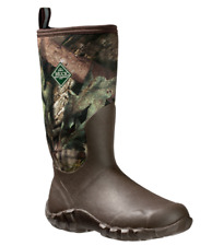 NEW MUCK BOOTS WOODY BLAZE COOL MEN 9 WATERPROOF MOSSY OAK HUNTING FISHING BOOT