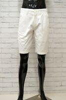 Bermuda Pantalone Corto Uomo Bianco TOMMY HILFIGER Taglia 28 42 Short Man Cotone