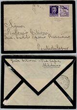 RSI-50c(11) PROPAGANDA AVIAZIONE-Busta Maderno->Pontedilegno 15.1.1944