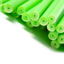 x50 89mm x 4mm Vert Coloré Plastique Sucette Gâteau Pop Bâtons Artisanats