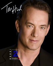 "Tom Hanks 8""x 10"" Great Signed Color PHOTO REPRINT"