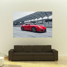 Poster of Porsche 911 GT3RS GT3 Cup Giant Huge 54x36 Inch Print 137x91 cm
