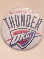 OKLAHOMA CITY THUNDER (OKC)-, NBA COLLECTORS BUTTON