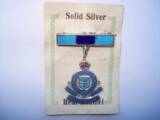 C1930S VINTAGE ROYAL ARMY ORDNANCE CORPS SILVER PIN BROOCH ON ITS ORIGINAL CARD