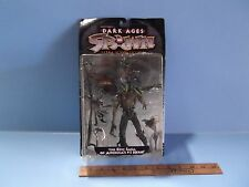 """#01 Spawn The Dark Ages The Spellcaster 7""""in Figure Green Skull Cap Series 11"""