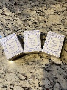 Crabtree & Evelyn Nantucket Briar Travel Bath Soaps 3  Bars 1.4 Oz
